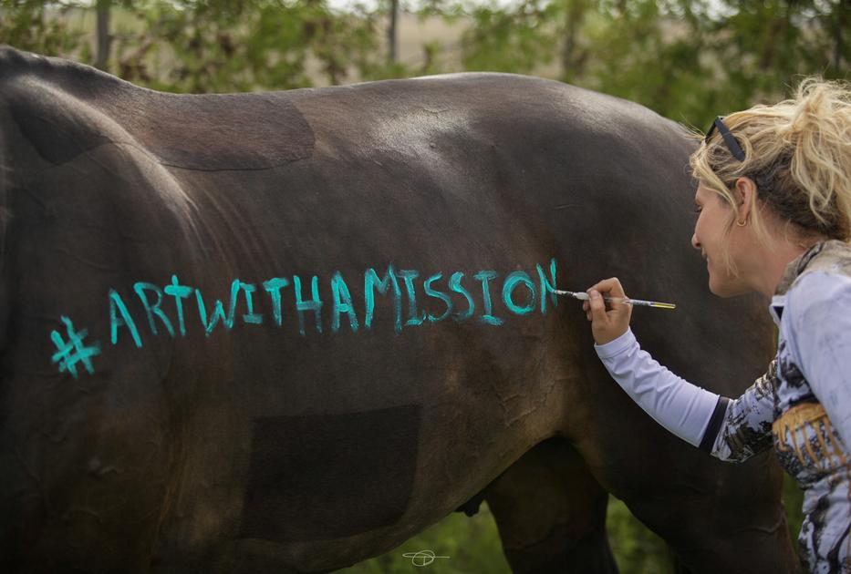 #ArtWithAMission